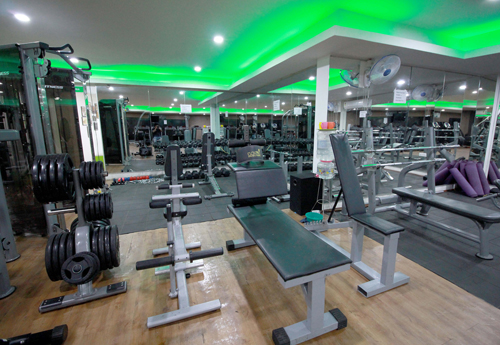 GREENS FITNESS AND BEAUTY STUDIO  360 virtual view