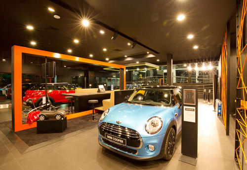 Mini Cooper  360 virtual view
