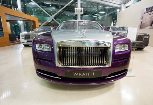 Rolls Royce  360 virtual view