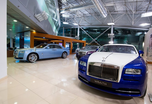 Rolls Royce Photo shoots