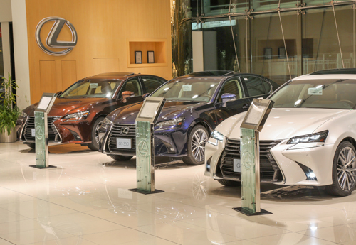 Lexus Center Photo shoots