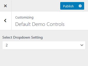 API Select Control