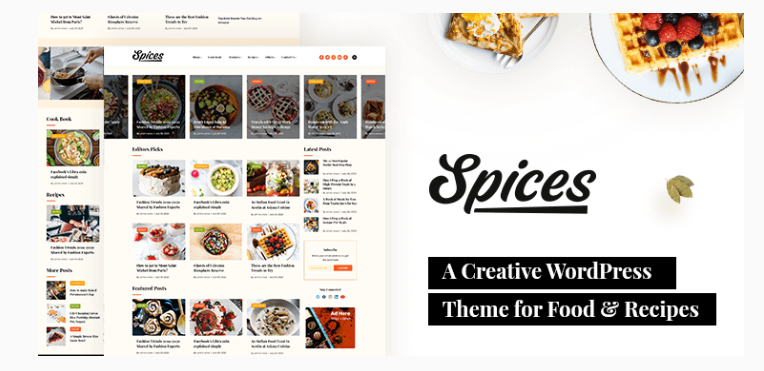 WordPress Food Blog Theme