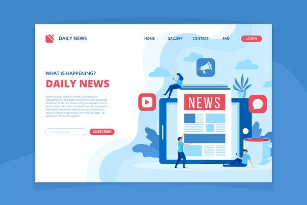 online News website